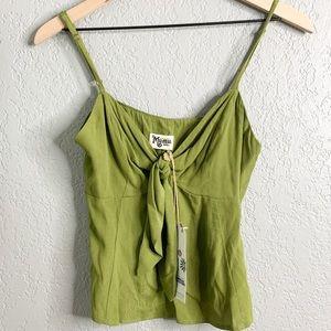 NWT show me your mumu green tank top